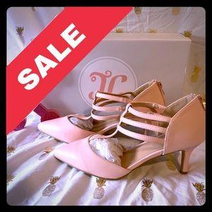 "💥$7💥 Elegant Lt. Pink Strappy 2"" Heels"